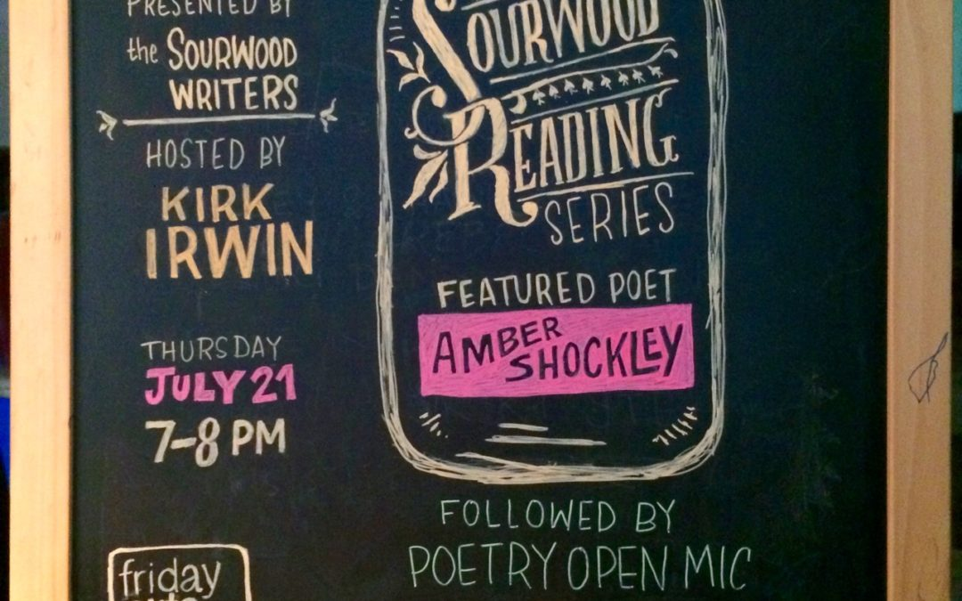 July Sourwood Readings – Featuring Amber Shockley