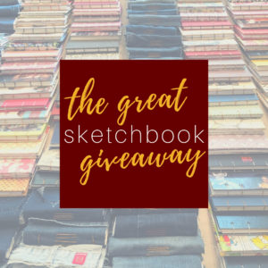 The Great Sketchbook Giveaway @ Friday Arts Project Studio