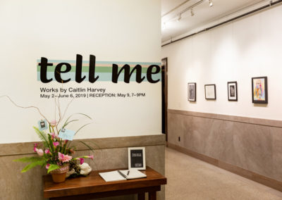 Tell Me Exhibit | 2019