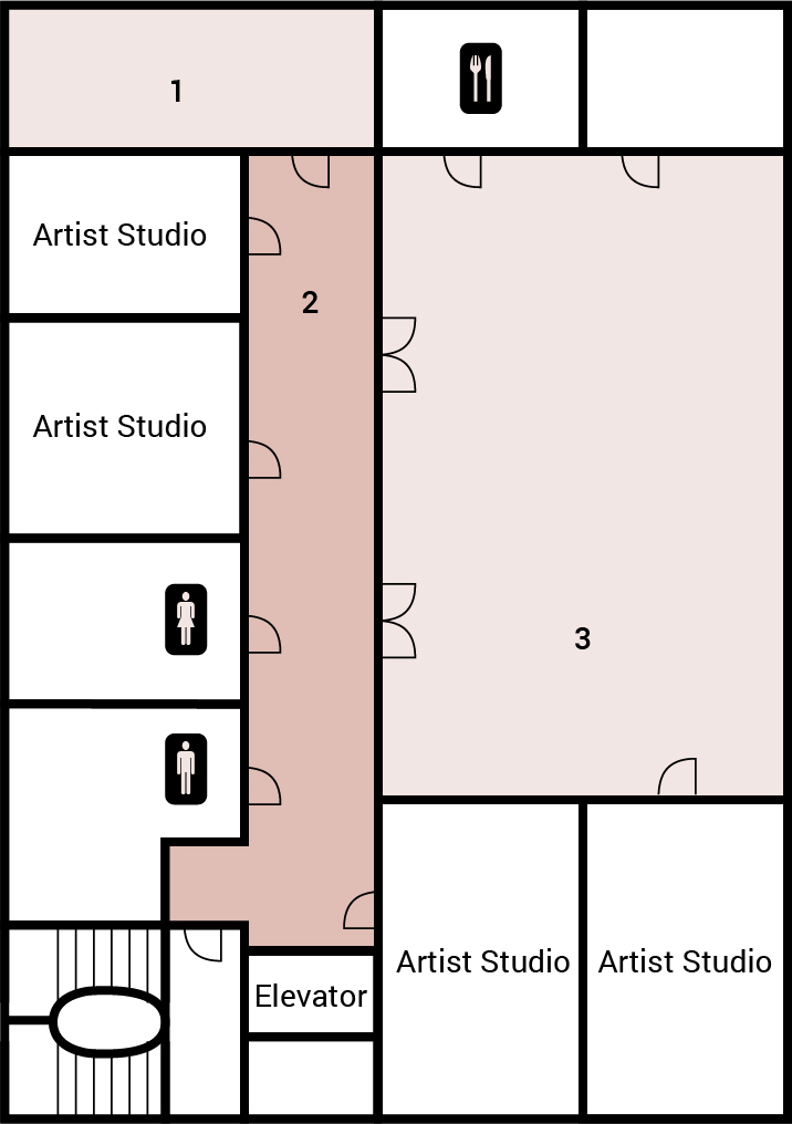 Courtroom Gallery Floorplan