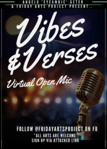 Vibes & Verses | October 2020 @ Zoom