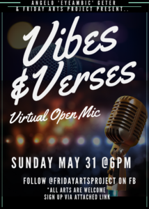 Vibes & Verses | VIRTUAL Event @ Facebook Live